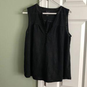 Women's Gap size med linen tank
